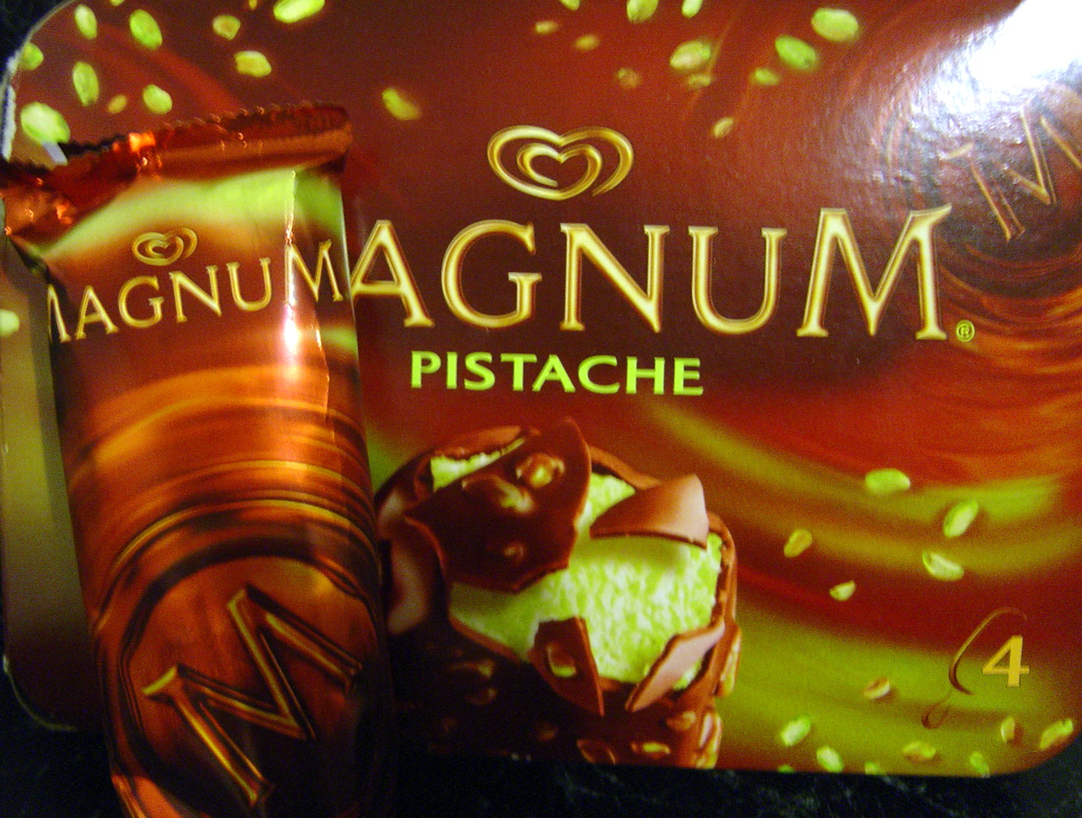 Les glaces veggie en folie veggy up - Magnum chocolat blanc ...