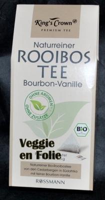 rooibos tee vanille bio veggie folie