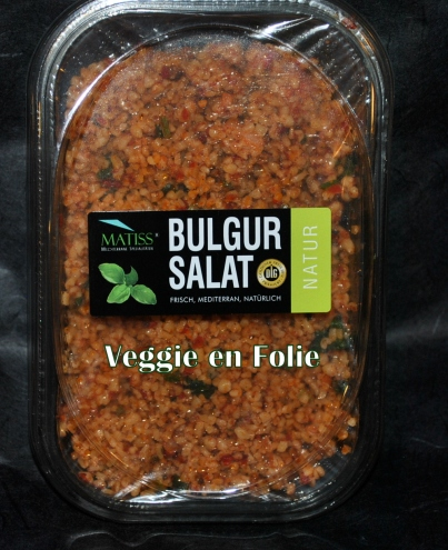 salade de boulghour au paprika veggie folie